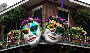large mardi gras mask party like it s tuesday harris event