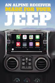jeep wrangler custom dashboard alpine i109 wra in dash restyle system jeep wrangler models