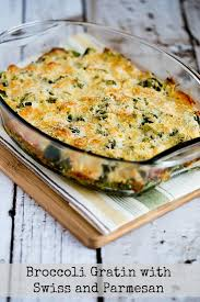 broccoli gratin with swiss and parmesan kalyn s kitchen