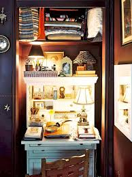 15 closets turned into space saving office nooks closet office space 2
