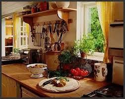 attractive rustic country kitchen decor gas stove cabinets black