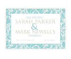 Invitation Card Border Creative Wedding Beach Tranquility Wedding Save The Date