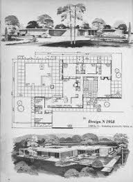 Mid Century Modern Ranch House Plans Mid Century Modern Floor Plans Palm Springs Architectural