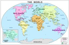 map of world map world collins children s world map collins primary