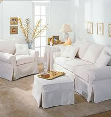 slip covered sofa fancy slip cover 61 with additional living room sofa