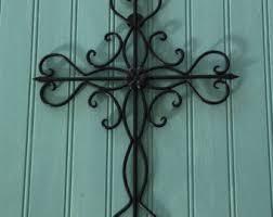wall decor crosses decorative cross etsy