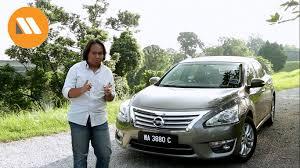 nissan altima 2015 malaysia nissan teana review malaysianmotoring youtube
