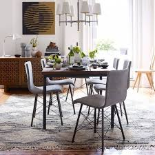West Elm Carroll Bench West Elm Dining Room Mid Century Dining Chair West Elm