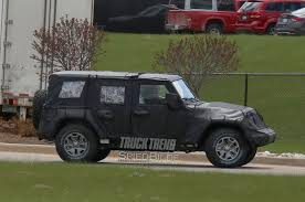 jeep wrangler rumors 2018 jeep wrangler jl aluminum and doors rumored by