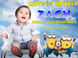 layout for tarpaulin baptismal zacharry lewis 4ft x 3ft minions tarp layout cebu balloons and