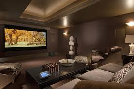 media room ideas decorating home theater mediterranean with
