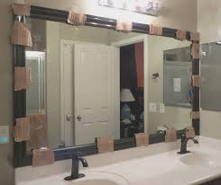bathroom fresh border around bathroom mirror home design new