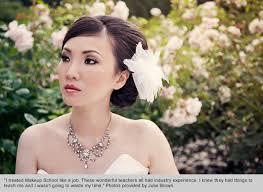 vancouver makeup school bridal brilliance from award winning makeup grad turned instructor