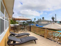 Large Garage by Authentic Beach Home With Pool And Decks Large Garage For Beach