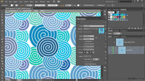 Seamless Pattern Creator | illustrator tutorial using the new pattern generator lynda com