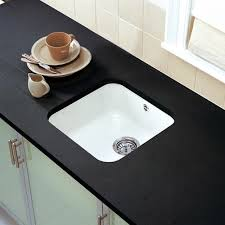 undermount ceramic kitchen sink astracast lincoln 4040 1 0 bowl gloss white ceramic undermount