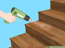 Laminate Flooring For Stairs 3 Ways To Paint A Staircase Wikihow