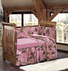 Camouflage Bedding For Cribs Baby Pink Camo Bedding Set Warm And Inviting Pink Balanced With