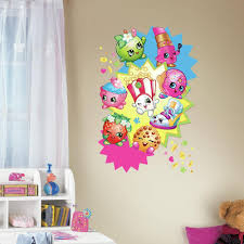 roommates 2 5 in w x 27 in h shopkins burst peel and stick giant h shopkins burst peel and stick giant wall