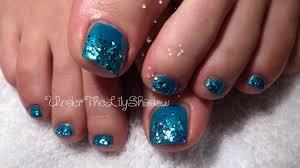 mermaid toe nails long lasting polish youtube