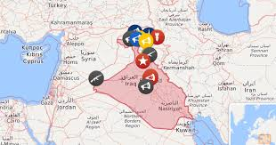 map of irak iraq news map in news from baghdad hawija operation and