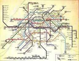 Dc Metro Rail Map Paris Garnier Sharp Keen European Transit Maps Paris Metro London