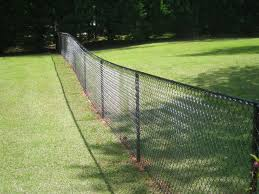 Decorate A Chain Link Fence Diy Chain Link Fence Design And Ideas Of House