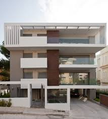Small Energy Efficient Homes by Apartment Building In Melissia Architravel Energy Efficient