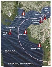 Map Of Punta Gorda Florida by Boating City Of Punta Gorda Fl