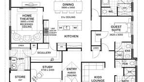 floor plans for 4 bedroom houses 4 bedroom house designs garage theatre rooms and house