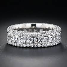 engagement bands rings images French cut wide diamond band diamond bands diamond and ring jpg