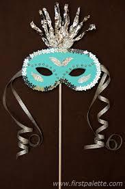 teal masquerade masks masquerade mask craft kids crafts firstpalette
