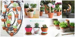 terracotta pots 13 inspiring projects that use mini terracotta pots