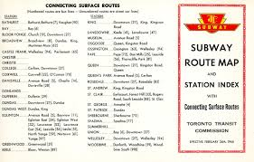 Ttc Subway Map by There U0027s A New Subway On The Way 5 U2013 Steve Munro