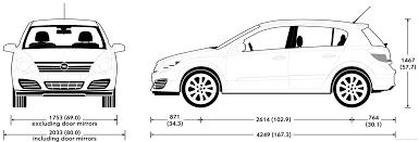 vauxhall astra 2007 the blueprints com blueprints u003e cars u003e opel u003e opel astra 2007