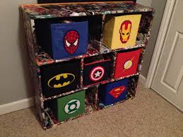 best 25 marvel boys bedroom ideas on pinterest super hero superhero fabric bins and comic book decoupaged cubbies i would make the cubbies using a lighter fabric
