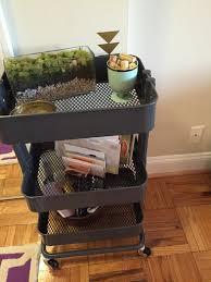raskog utility cart repurposed studio style blog