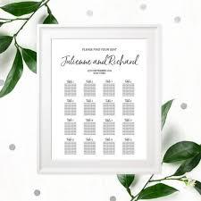 wedding reception seating chart wedding ideas seating chart 3 weddbook