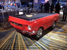 Mustang Pool Table Ford At The North American International Auto Show Johnbiehler Com