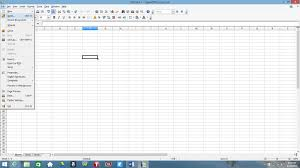 How Convert Pdf To Excel Spreadsheet How To Convert Excel To Open Office Open Office Tutorial