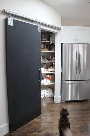 barn door kitchen pantry home design ideas