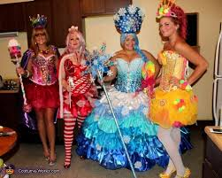 candyland characters costume idea for groups