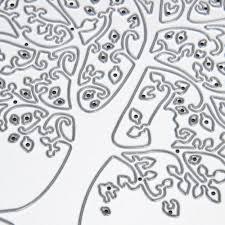 aliexpress com buy diy tree metal cutting dies stencils