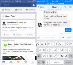 facebook is forcing all users to download messenger by ripping