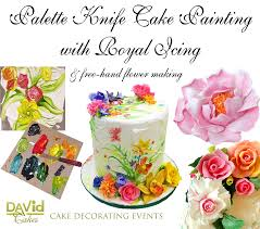 Courses For Painting And Decorating David Cakes Royal Icing Cake Decorating Cake Painting Classes