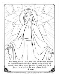mary coloring pages eliolera com