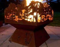 Custom Metal Fire Pits by Collegiate Fire Pit Building Projects Pinterest Metals