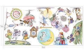 Nursery Rhyme Wall Decals Nursery Rhymes Custom Wall Decals For Muralistick