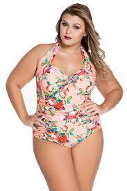 chase secret womens retro vintage one piece swimwear floral