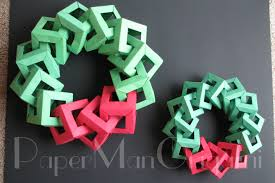 origami christmas decorations u2013 origami wreath